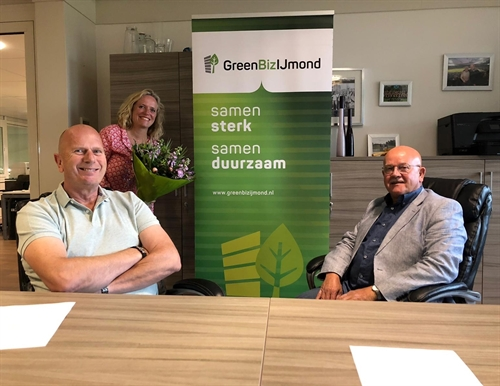Ondertekening GreenBiz Green Deal Velsen
